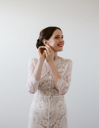 Lace Wedding dress by Lover the Label