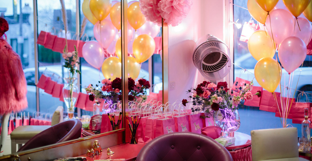 The Golden Poodle in North Fitzroy, Melbourne is the wonderland studio that The Distinctive Dame works out of.